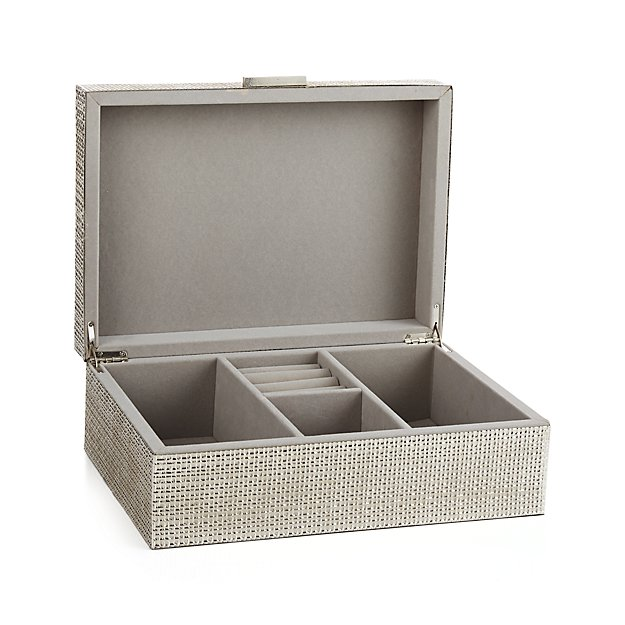 Dory Jewelry Box   Crate and Barrel