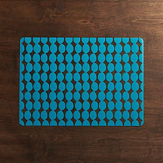 Aqua Dots Easy-Care Placemat