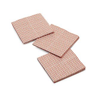 Set of 20 Orange Dots Beverage Napkins