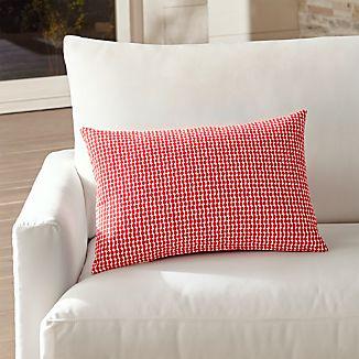 Dots Outdoor Lumbar Pillow