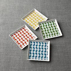 Set of 4 Dots Plates