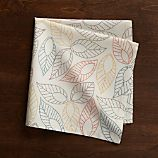 Dotted Leaf Cloth Dinner Napkin