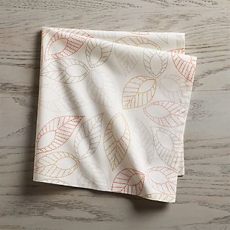 Dotted Leaf Napkin