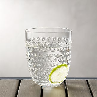 Dottie Clear Acrylic 17 oz. Drink Glass
