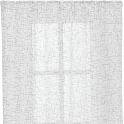 Dottie Silver Sheer 48x96 Curtain Panel