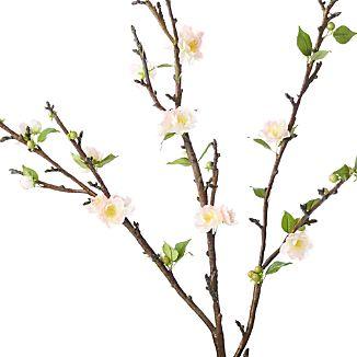 Double Cherry Blossom Artificial Flower Stem