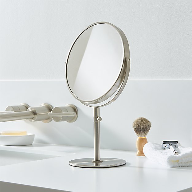 Double Sided Vanity Mirror Crate And Barrel
