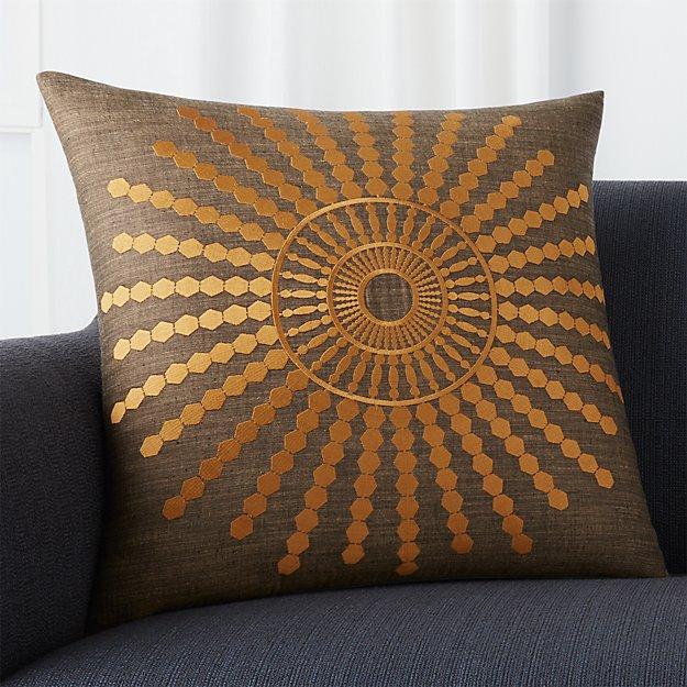 "Doucette Amber 20"" Pillow"