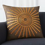 "Doucette Amber 20"" Pillow with Down-Alternative Insert"