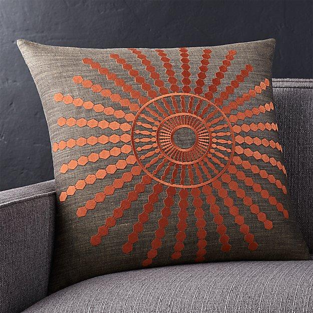 Decorative Pillow Rust : Doucette Rust 20