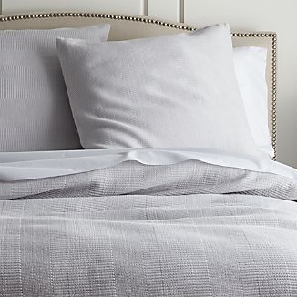 Dove Coverlets and Pillow Sham