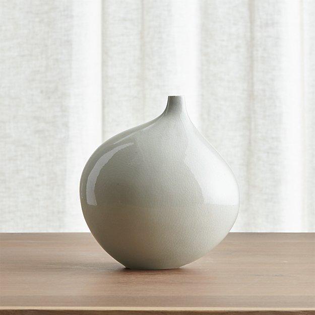 Dove Grey Small Vase