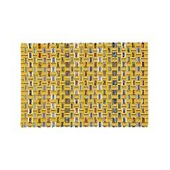 Dover Yellow Cotton 2'x3' Rag Rug