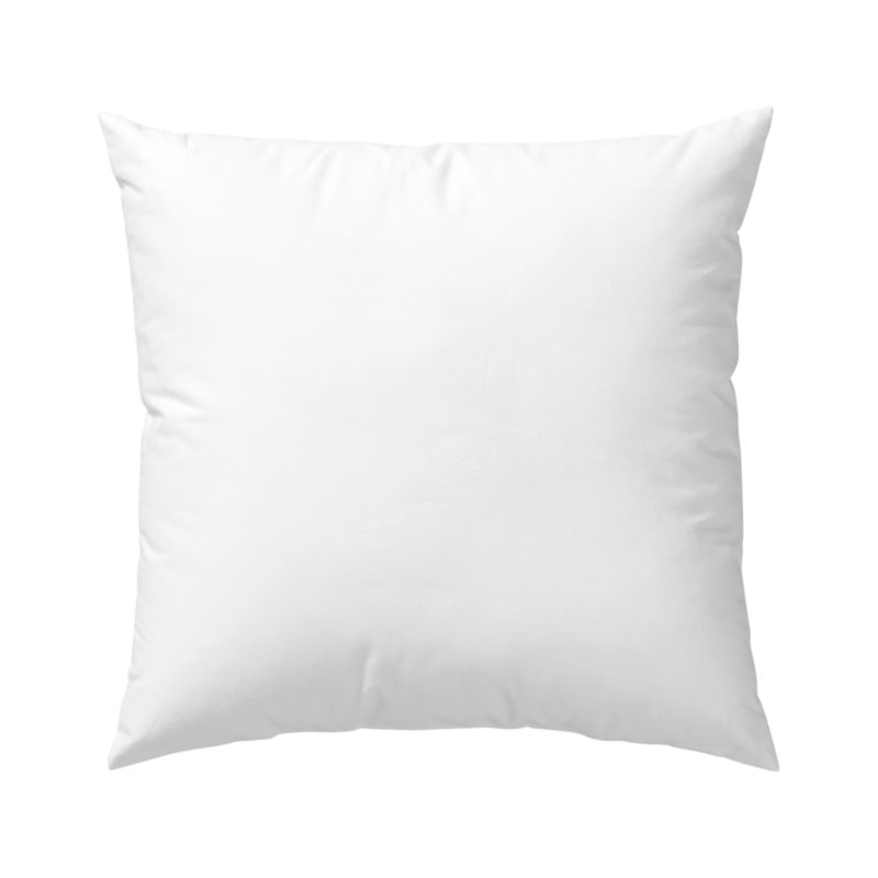 Lofty polyester fiberfill cuddles just like feather down as a soft and sumptuous hypoallergenic alternative. Bed pillows also available.<br /><br /><NEWTAG/><ul><li>100% polyester fill</li><li>100% cotton shell</li><li>Machine wash, tumble dry low</li><li>For best results, professional laundering is recommended</li><li>Made in China</li></ul>