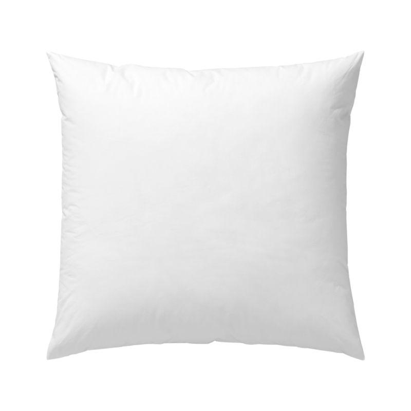 Lofty polyester fiberfill cuddles just like feather down as a soft and sumptuous hypoallergenic alternative. Bed pillows also available.<br /><br /><NEWTAG/><ul><li>100% polyester fill</li><li>100% cotton shell</li><li>39 oz. fill</li><li>Machine wash, tumble dry low</li><li>For best results, professional laundering is recommended</li><li>Made in China</li></ul>