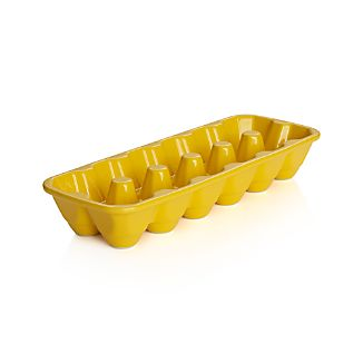 Dozen Yellow Egg Crate