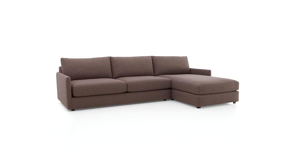Drake 2-Piece Sectional Sofa