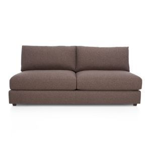 Drake Armless Sectional Loveseat