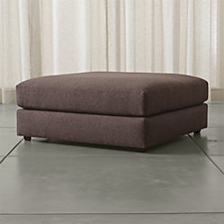 Drake Armless Chair Luxe Gravel Crate And Barrel