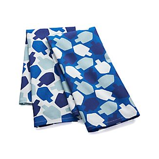 Dreidel Dish Towels Set of Two