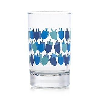 Dreidel Glass Tumbler