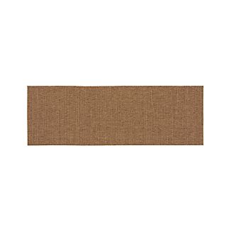 Drift Brown Indoor-Outdoor 2.5'x8' Rug Runner