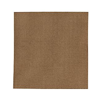Drift Brown Indoor-Outdoor 8' sq. Rug
