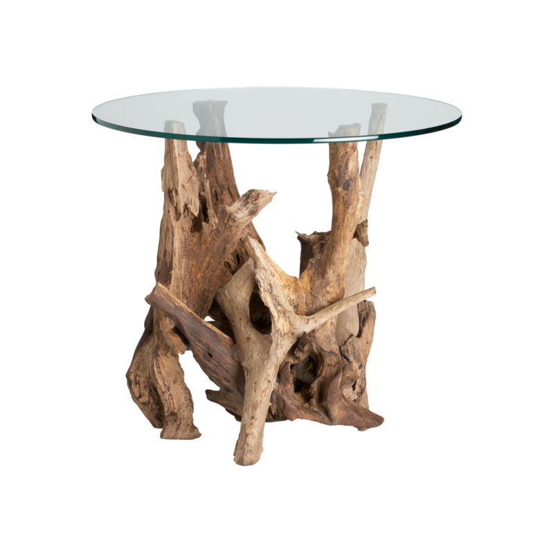 Crate & Barrel: Driftwood Side Table