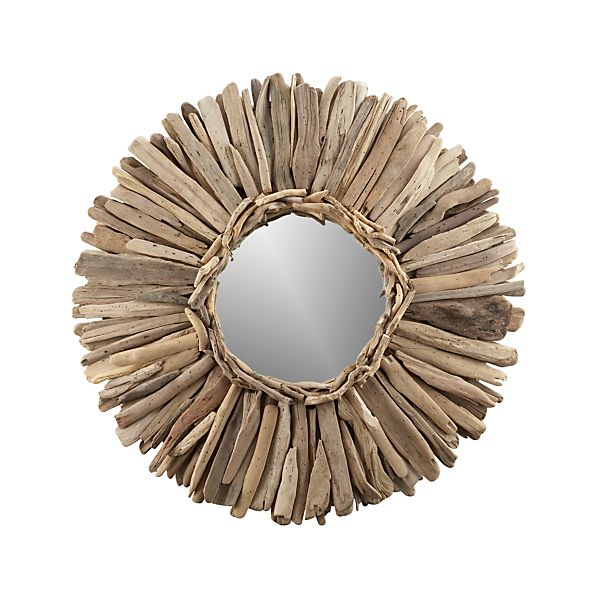 Crate & Barrel: Driftwood Mirror