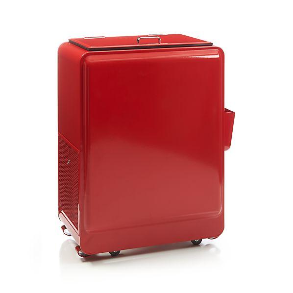 Red Drink Cooler
