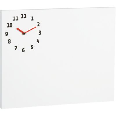 Dry Erase Board-Clock