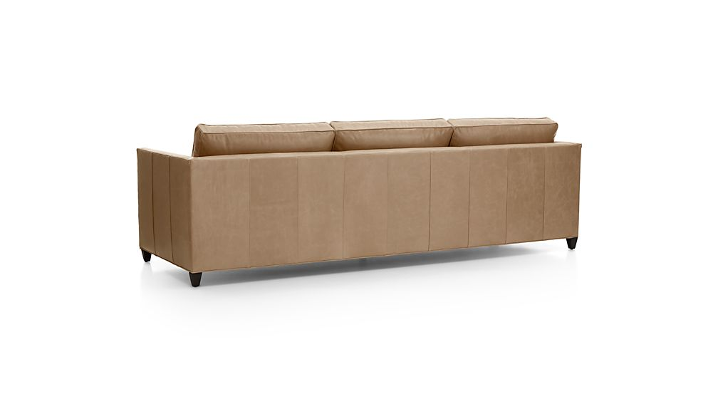 "Dryden Leather 3-Seat 103"" Grande Sofa"