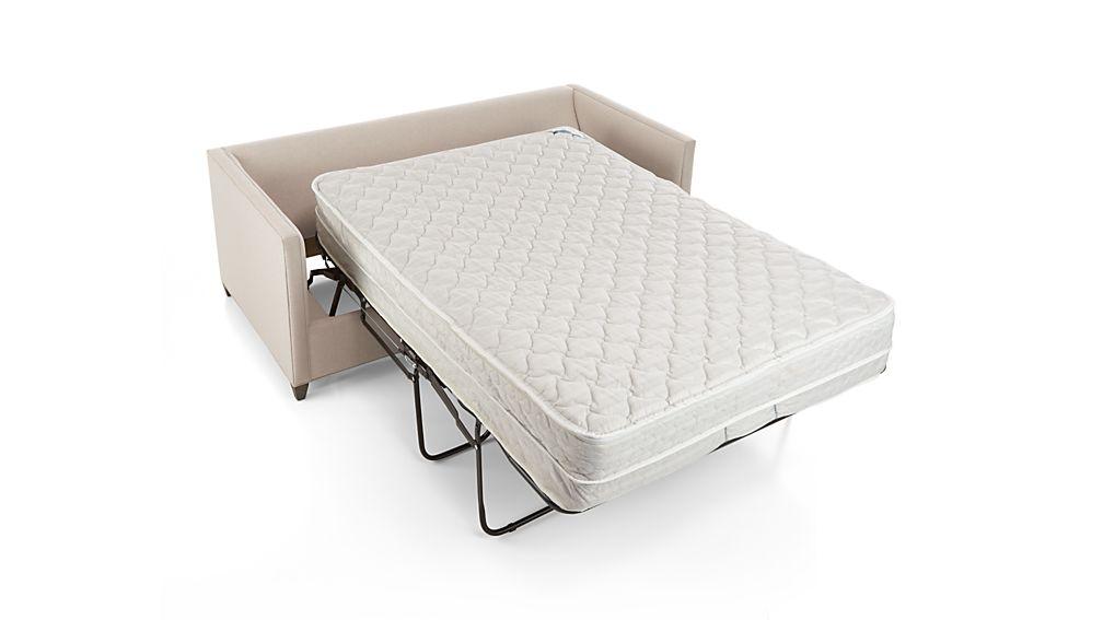 Dryden Full Sleeper Sofa With Air Mattress Diamond: Flax