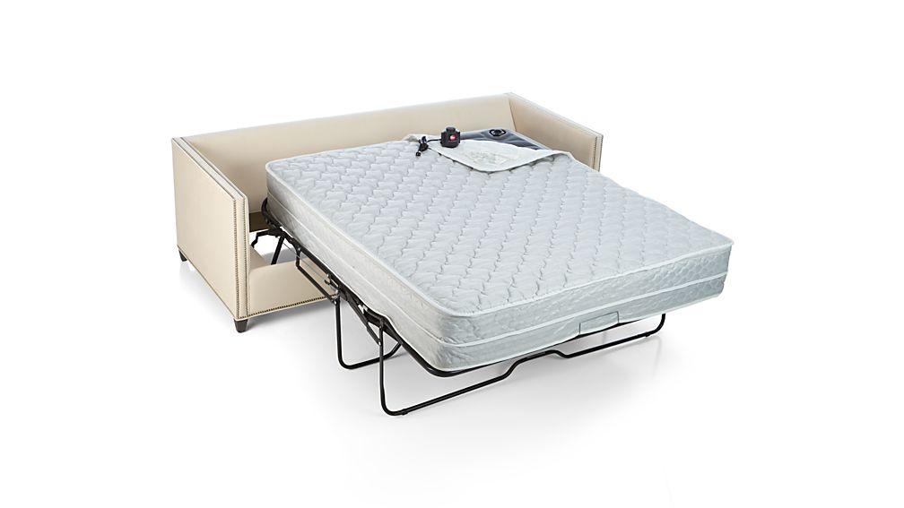 Dryden Queen Sleeper Sofa with Nailheads and Air Mattress  : Dryden2StQSlpNailAirMAV2F15 from crateandbarrel.com size 1008 x 567 jpeg 33kB