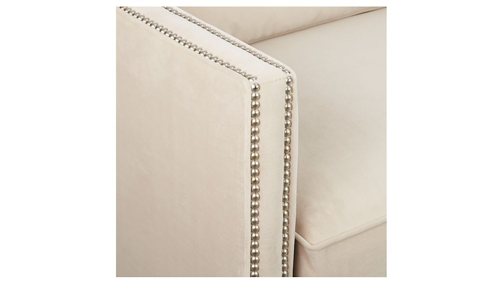 Dryden Full Sleeper Sofa with Nailheads
