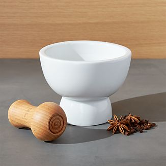 Dual Mortar and Pestle