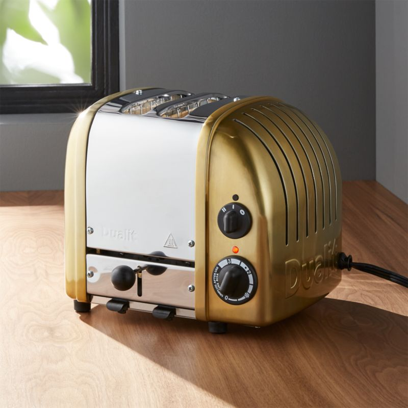 Dualit © 2-Slice Brass Toaster