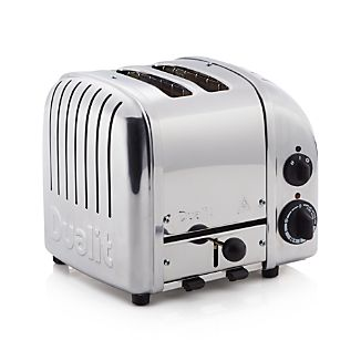 Dualit 2-Slice Chrome Toaster