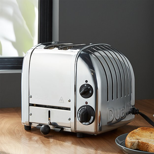 2 Slice Toaster Cream Chrome: Dualit © 2-Slice Chrome Toaster