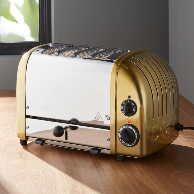 Dualit © 4-Slice Brass Toaster