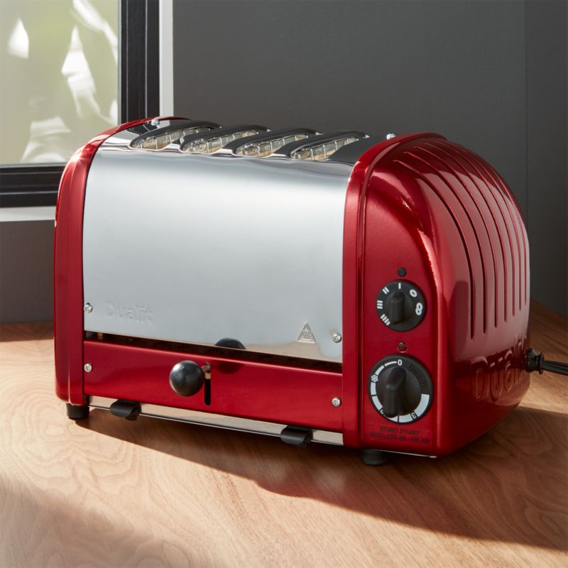 Dualit © 4-Slice Candy Apple Red Toaster