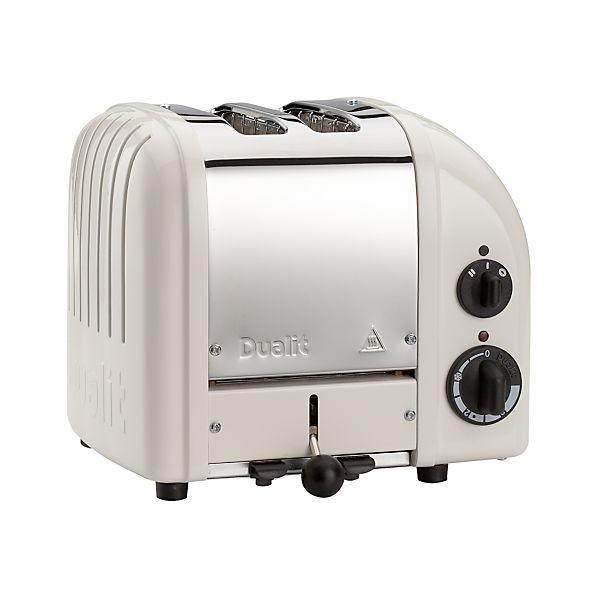 Dualit ® NewGen Canvas White 2-Slice Toaster
