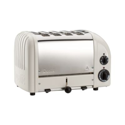 Dualit® NewGen Canvas White 4-Slice Toaster