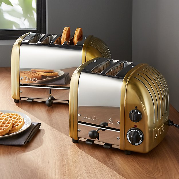 Dualit © Brass Toasters