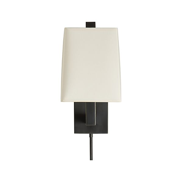 Duncan Antiqued Bronze Wall Sconce