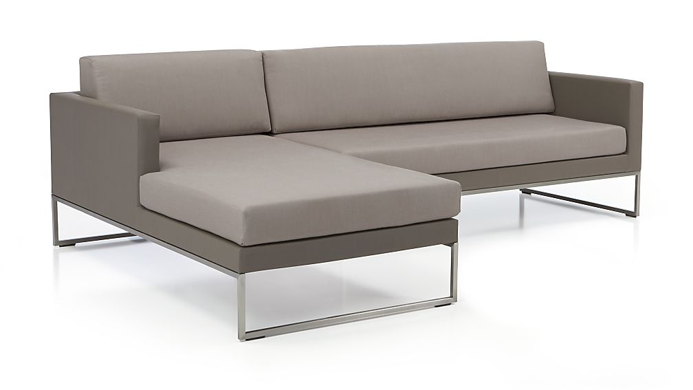 Dune 2-Piece Sectional with Cushions