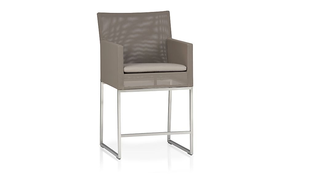 "Dune 24"" Counter Stool with Cushion"