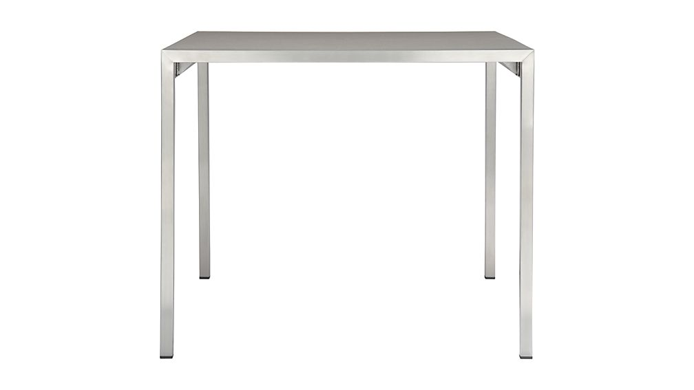Dune Rectangular Dining Table with Pebbled Glass
