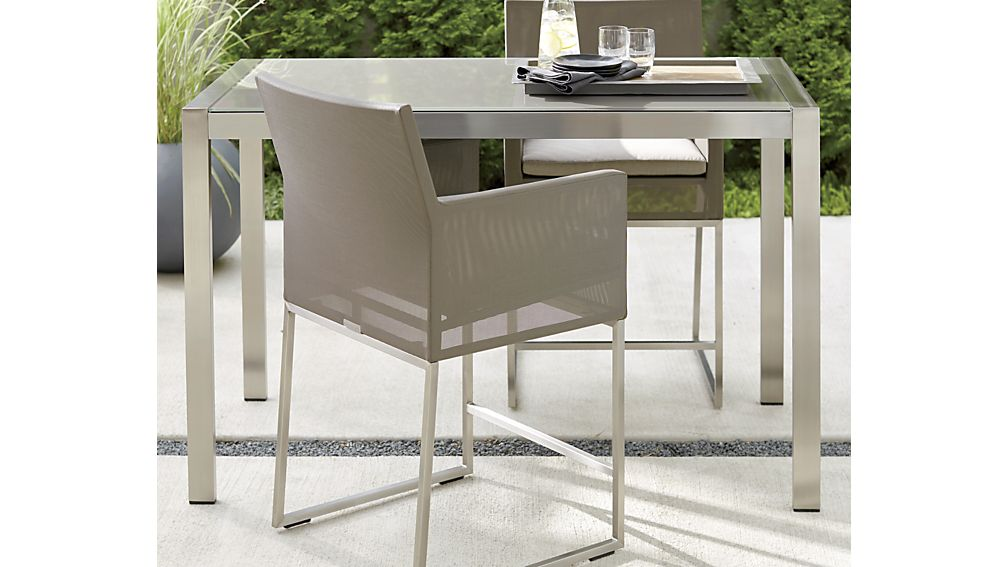 """Dune Taupe 24"""" Counter Stool with Cushion"""