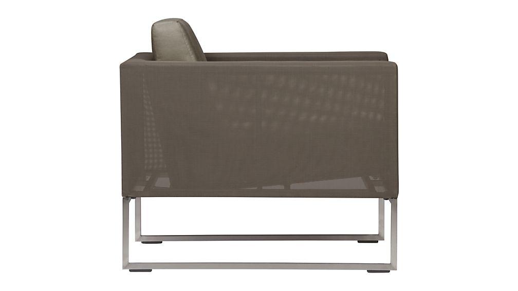 Dune Lounge Chair with Cushion
